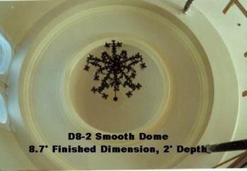 Smooth 8-ft Dome (2 feet deep)