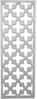 "Cast Panels - lattice design - 44 3/4"" x 16"""
