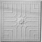 Cast Plaster Ceiling Tiles. 24 x 24