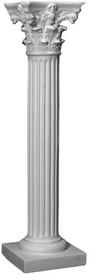 Tablebase T15 - cast plaster - Corinthian