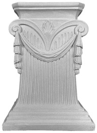 Ionic Cast Plaster decorative Table Pedestal #T3