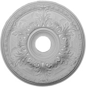 "19"" Medallion featuring Elaborate Acanthus leaves and Egg & Dart Molding"
