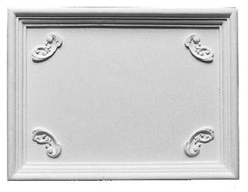 Decorative Panel with small inside corner ornamentation