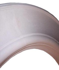 Plain Cast Plaster Oval Ceiling Ring R6 - 98 1/2 x 79