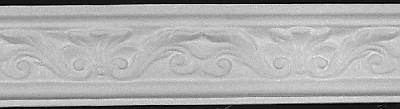 Scrolled Leaf Plaster Molding