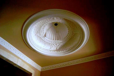 Dome D9 used here with DM360 Crown Molding