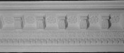 Elaborate Crown Molding with Corbels