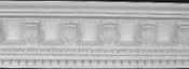 Acanthus Leaves, with Egg and Dart Crown Molding - Small