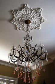 Star Blossom Cast Plaster Ceiling Medallion