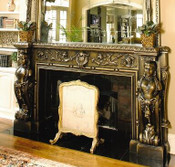 This mantel is available on this page with B36 Lady Rebecca corbel pilasters