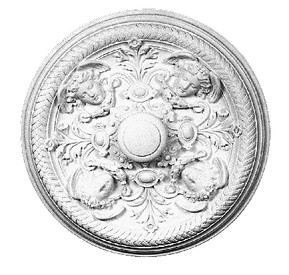 Ceiling Medallion Angels Acanthus 33 Inch