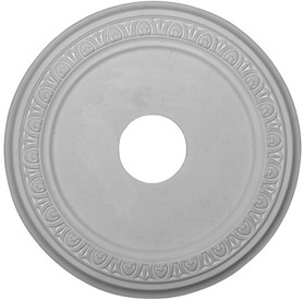 Classic Egg and Dart Molding Ceiling Medallion - 18""