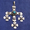 Taxco Mexico Sterling Silver Wedding Cross