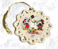 Lenox Mickey and Minnie Ornament