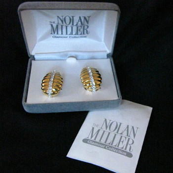 Nolan Miller Glamour Collection earrings