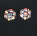 Vintage Signed Warner Clip Earrings