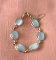Gold Filled Moonstone Bracelet