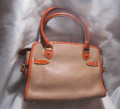Vintage Dooney & Bourke Leather Handbag (back)