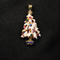 White Christmas Tree Pendant