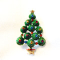 Vintage, signed Hedy Christmas Tree Pin