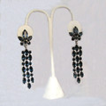 Vintage Signed Henry Schreiner Chandelier Earrings