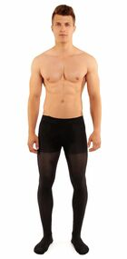 Glamory Microman 100 Tights with Fly