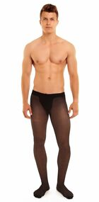 Style G422 Glamory Classic 20 Pantyhose for Men