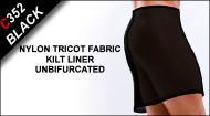 C352  Kilt Liner, Nylon Tricot