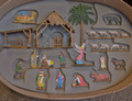 German Pewter Nativity