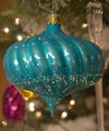 Pendant Spiral Turnip Turquoise