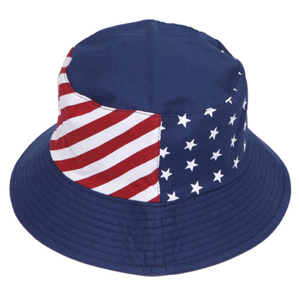 Something Special - Flag Reversible American Flag Bucket Hat