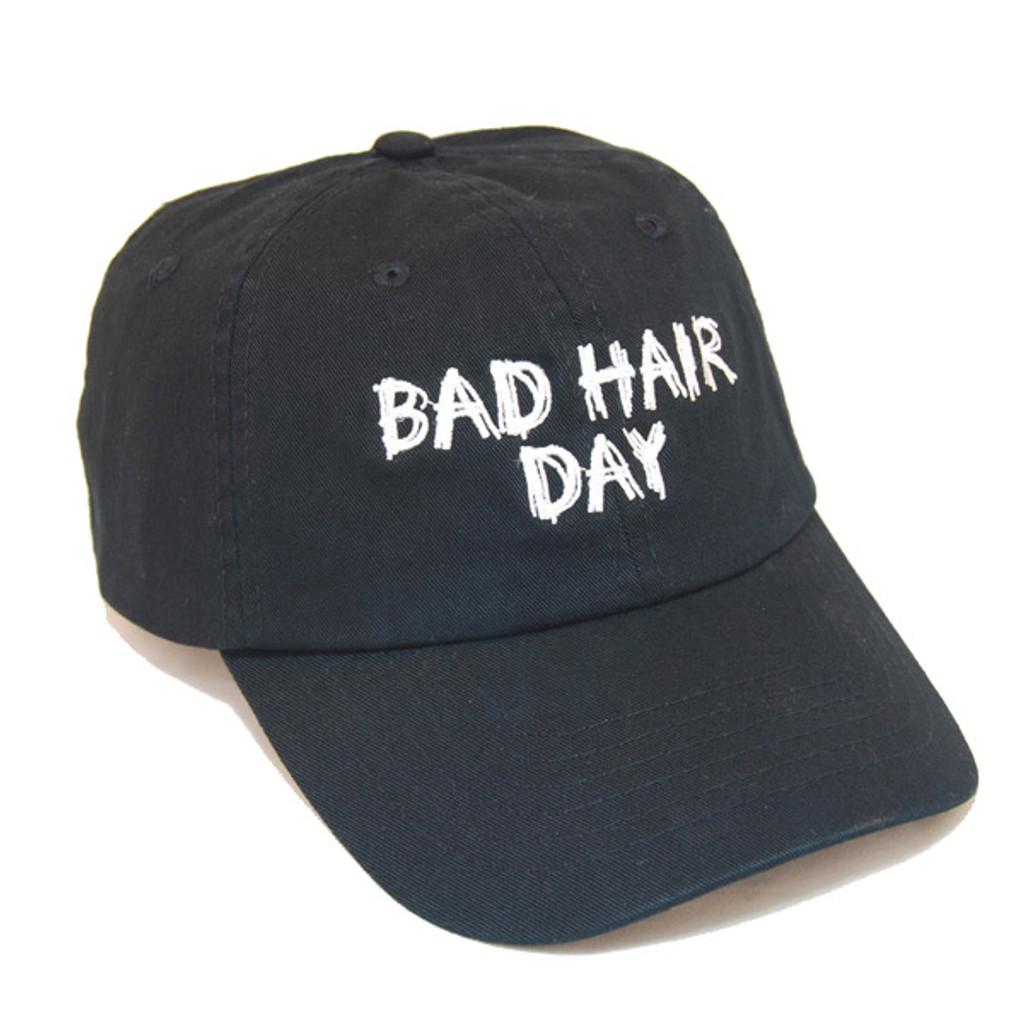Dorfman Pacific - Bad Hair Day Script Baseball Cap - Side View