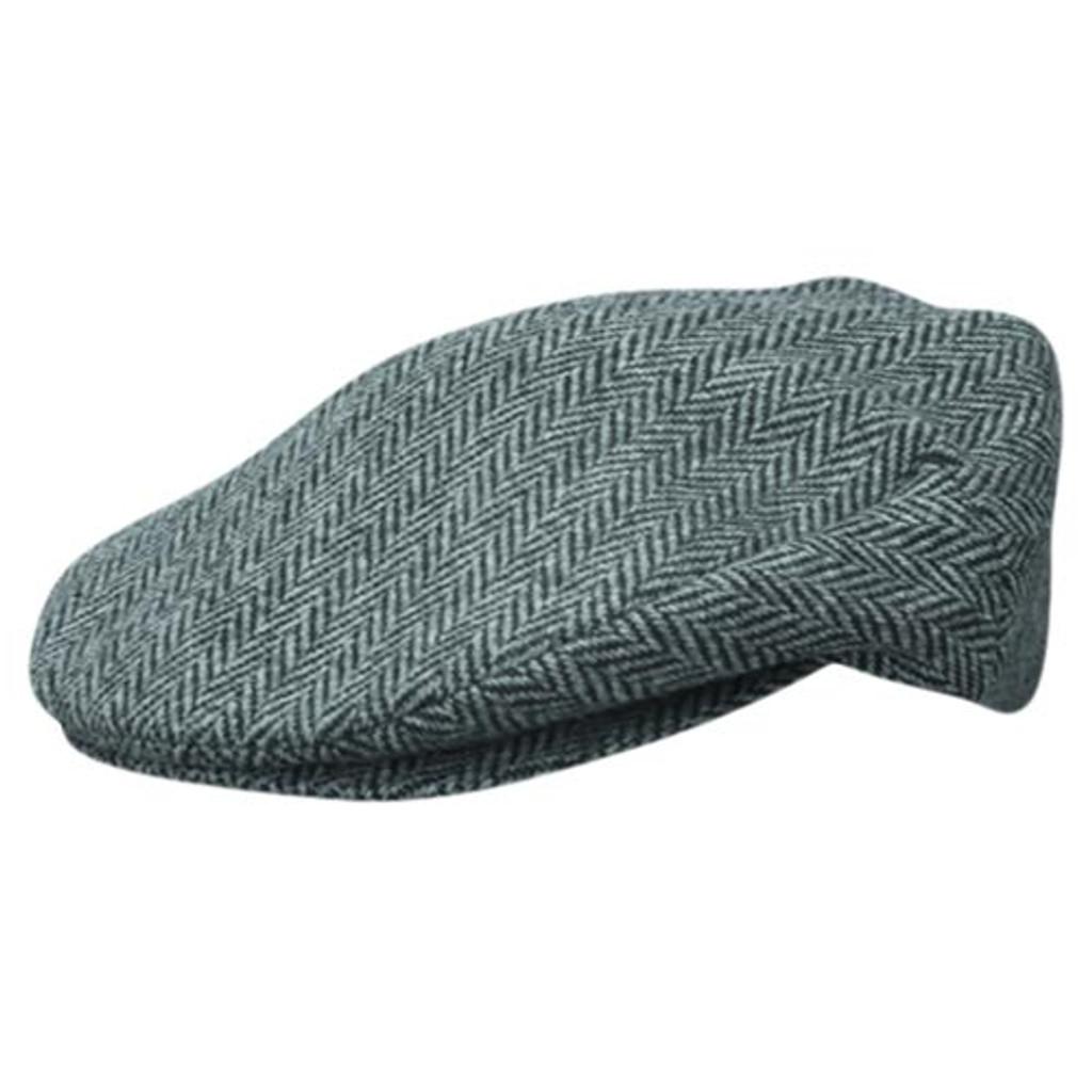 Dorfman Pacific - Grey Wool Ivy Cap