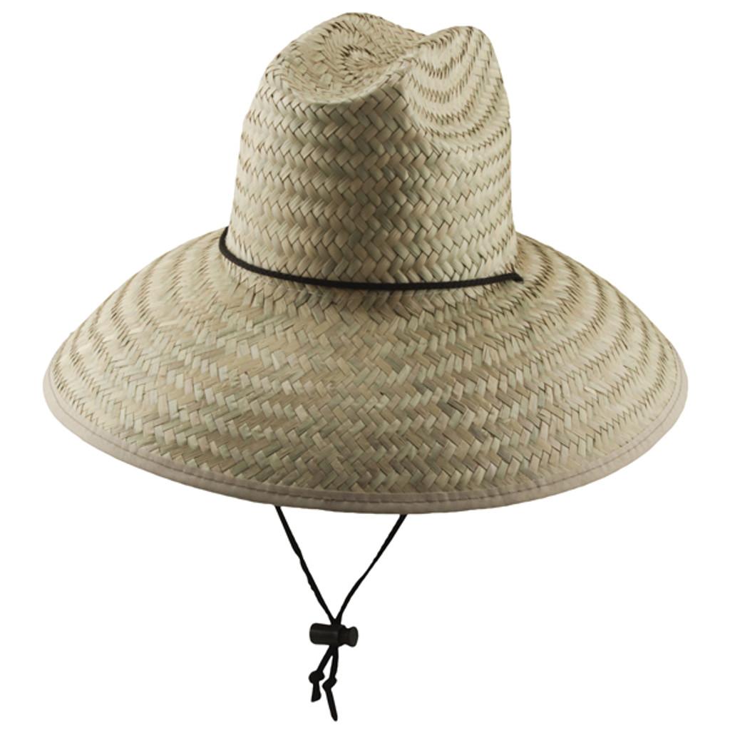 Dorfman Pacific Palm Lifeguard Straw Sun Hat Hats