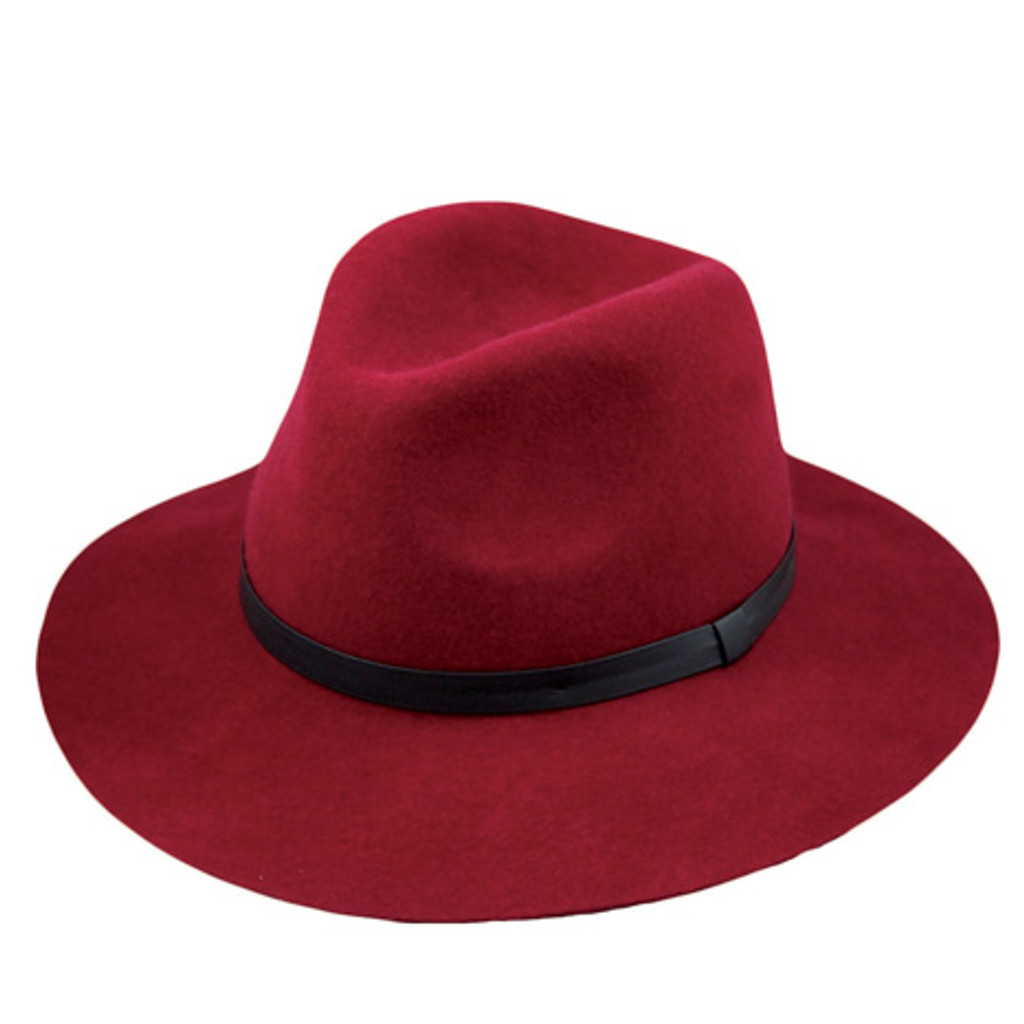 Jeanne Simmons - Red Outback Floppy Hat