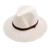 San Diego Hat Company - Ivory Knit Fedora