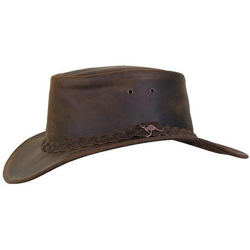 Kakadu - Nullarbor Leather Hat