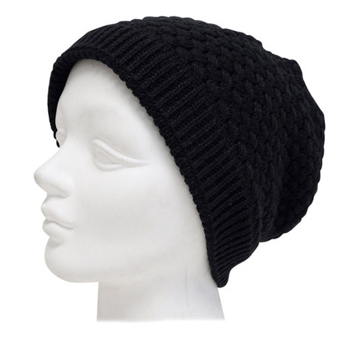 Downtown Style - Bubble Knit Beanie