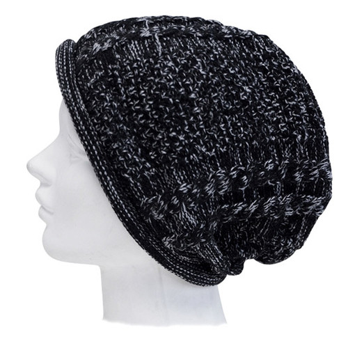 Downtown Style - Knitted Slouch Beanie