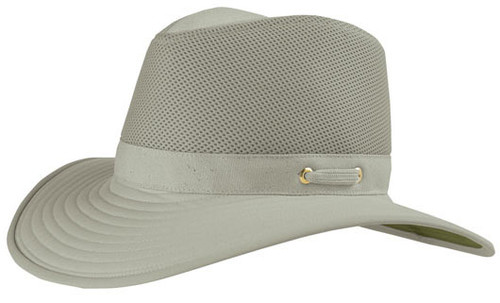 Tilley - TM10 Cotton Duck with Mesh Hat Khaki With Olive Underbrim