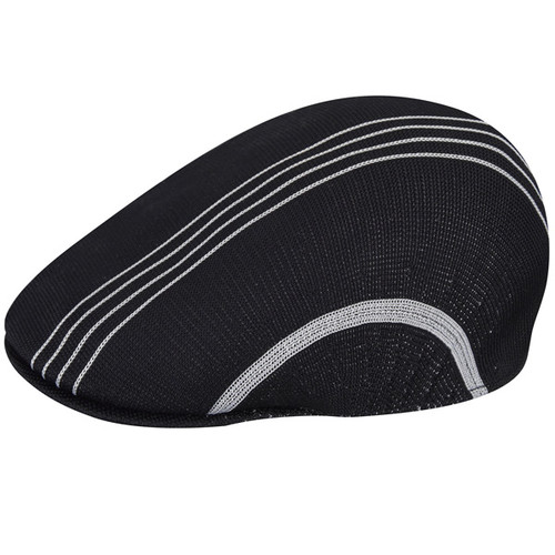 Kangol - Black Multi Stripe 507 Cap Main