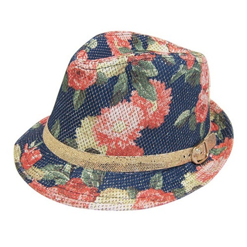 Boardwalk Style - Child's Glitter Rose Fedora
