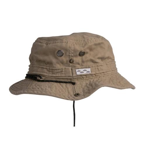 Conner Hats - Yellowstone Hiker Bucket Hat in Khaki - Full View