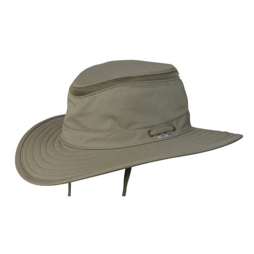 Conner - Boater Hat in Khaki - Full View