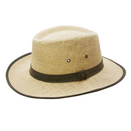 Conner - Hemp Sun Hat - Full View