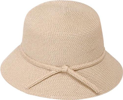 Jeanne Simmons - Tweed Bucket Hat Tan