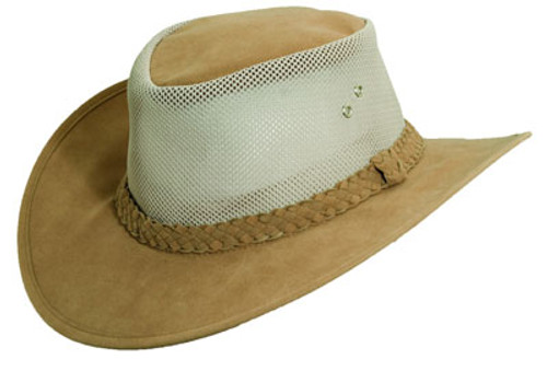 Dorfman Pacific - Polyester Blend Bush Soaker Hat Tan