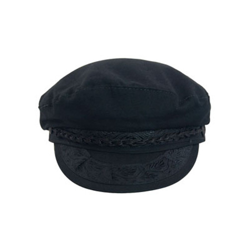 Aegean - Cotton Greek Fisherman's Cap  - Front