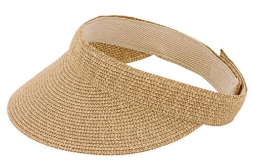 Jeanne Simmons - Toast Tweed Visor