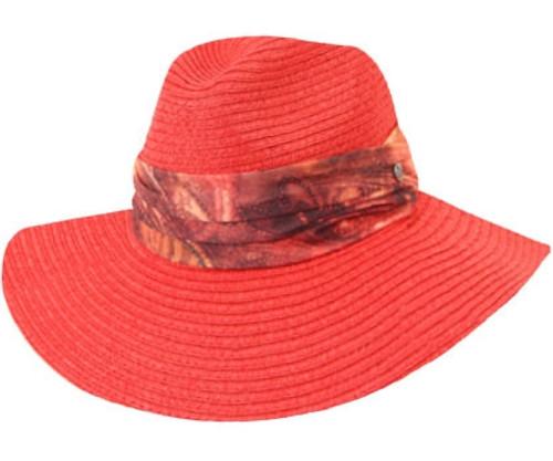 Kooringal - Willow Wide Brim Hat , Rust